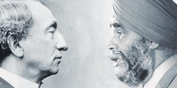 Send me an Army of Sikhs : Sir John. A. Macdonald