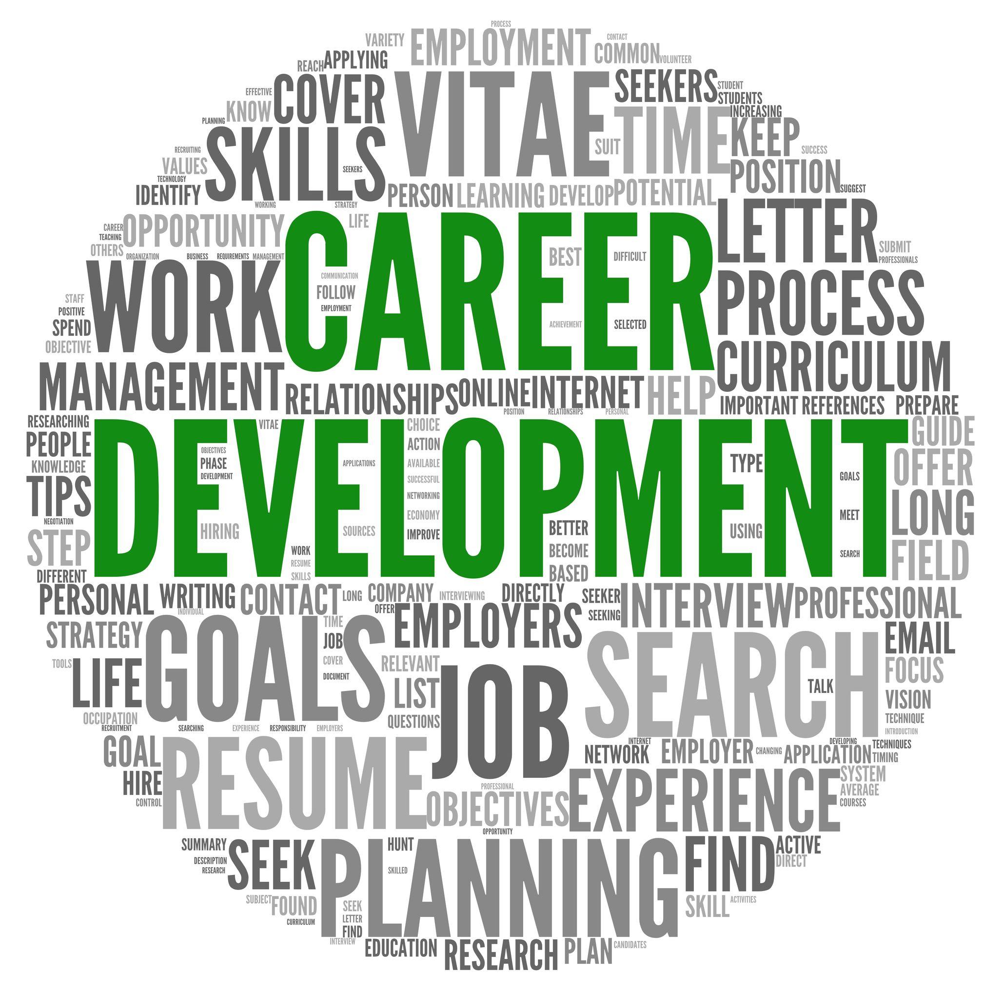 Career Development Or Professional Training Resume